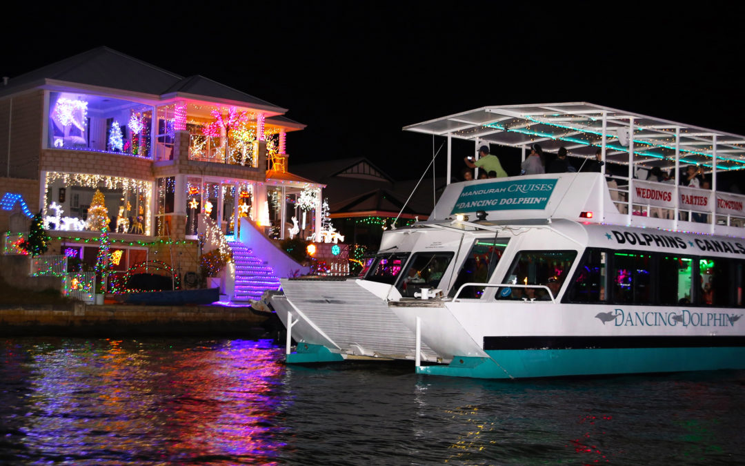 MANDURAH CANALS CHRISTMAS LIGHTS CRUISE