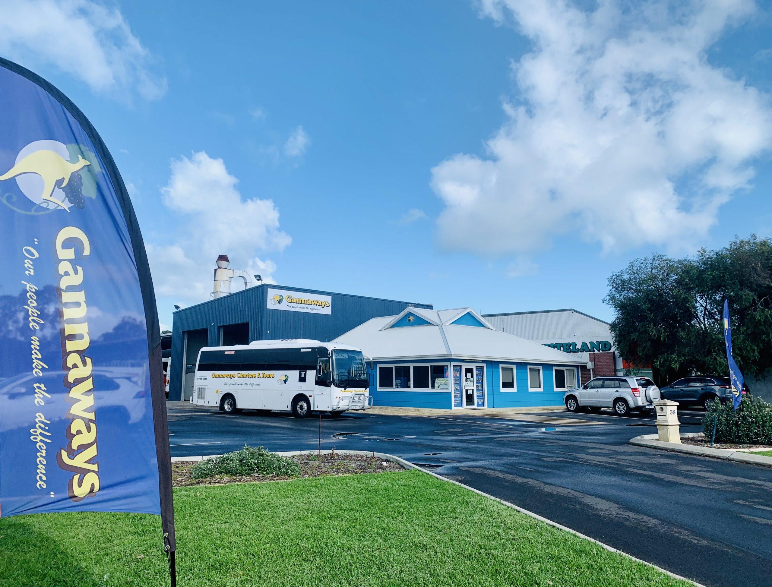 Gannaways Busselton Bus Depot